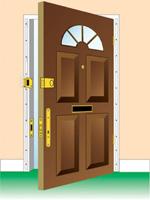Ystanovka-dvereij